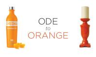 Ode to Orange & Ghoulish Goodies
