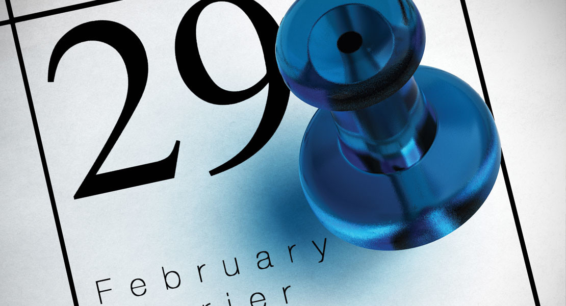Leap Year Puts February 29 Back On The Calendar