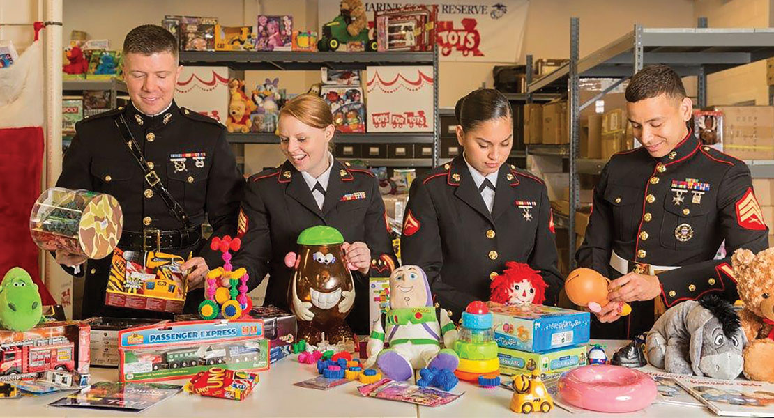 Toys For Tots Colors : Marine toys for tots foundation lehigh valley