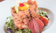 Smoked Tuna Tartar - Saranda's On Broadway