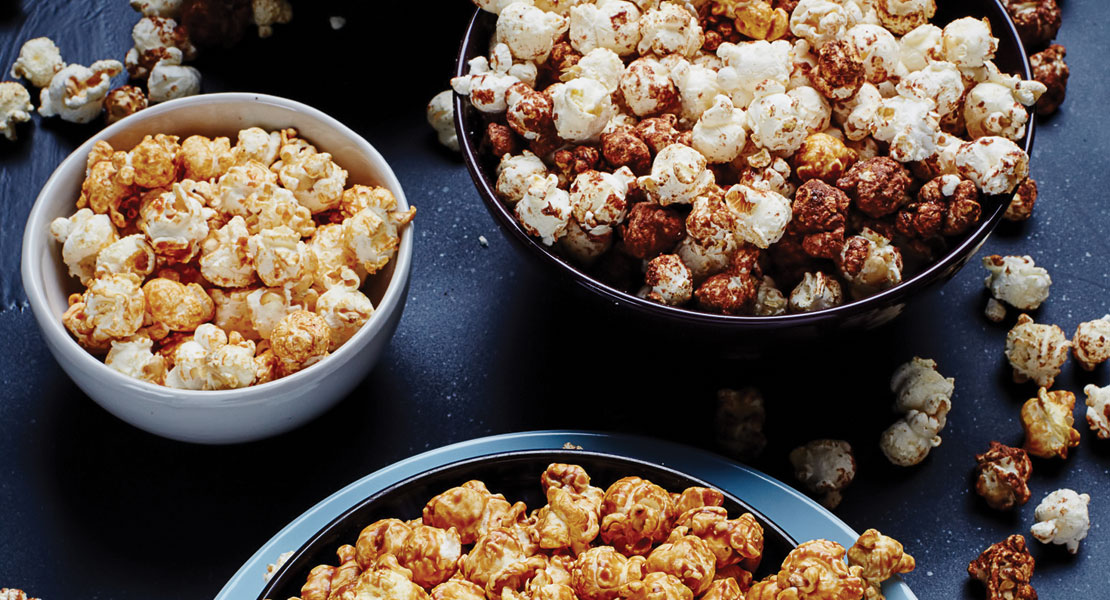Popcorn Give the Small Kernel Big Flavor