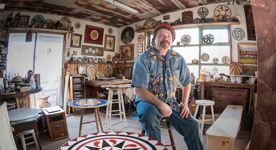 Eric Claypoole – Hex Sign Artist