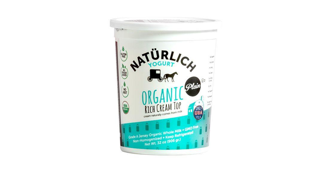 Naturlich Organic Yogurt