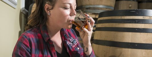 Day in the Life of Eight Oaks Distiller Caitlin Bagenstose
