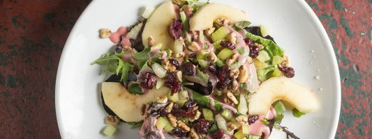 Waldorf Salad from McCoole's Red Lion Inn