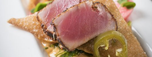 Tuna Tataki from House and Barn