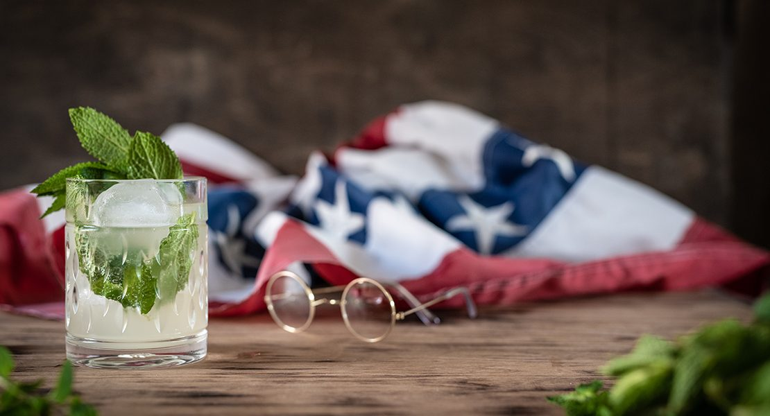 mint juleps with teddy roosevelt feature image