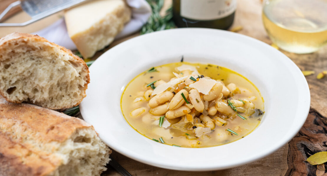 Best I Ever Had: Tuscan white bean  & rosemary soup at Sette Luna