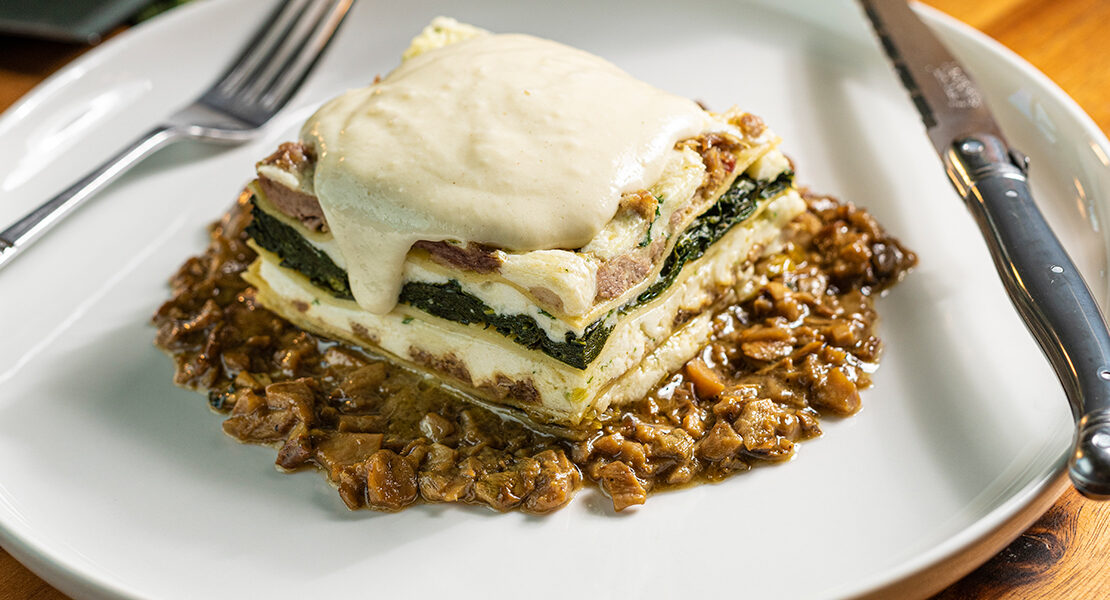 Roasted  Duck  Lasagna from Local Mama Catering